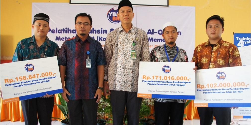 3 Ponpes Binaan YBM-BRI di Lampung