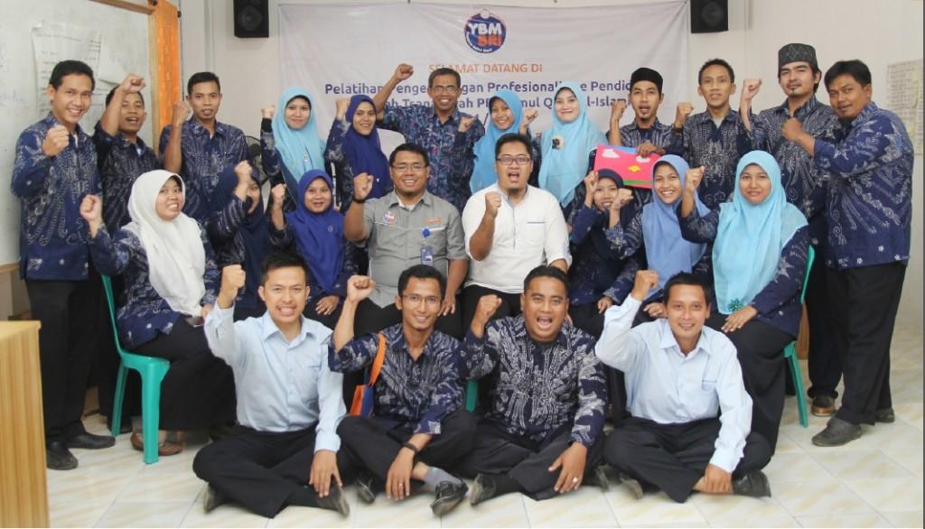 Coaching Mentoring Pelatihan Profesionalisme Pendidik Pondok Pesantren Ummul Quro Al-Islami