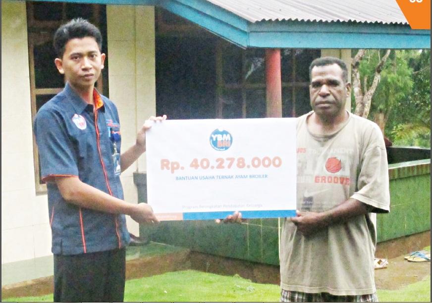 P3K Komunitas Muallaf Angkasa Pura, Papua