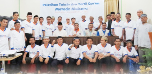 Pelatihan tahsin Kanwil Banda Aceh