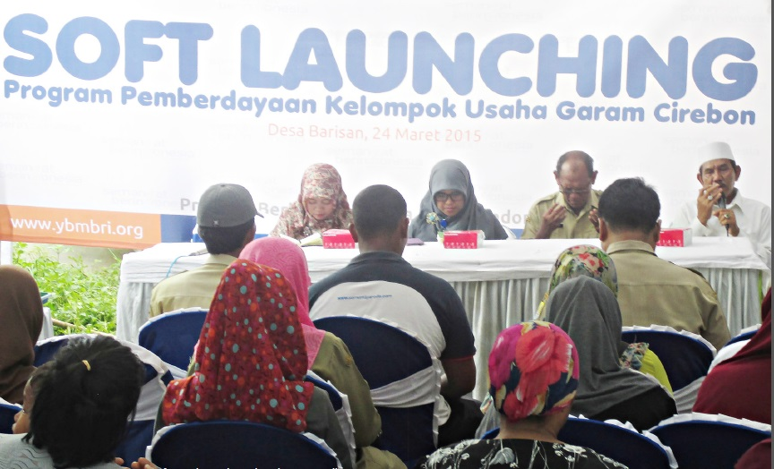 Soft Launching Kelompok Usaha Garam Brilliant