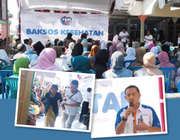 YBM-BRI Peduli Kesehatan di Desa Timbulsloko