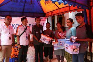 YBM_Gulirkan Bantuan untuk Korban Longsor Ponorogo