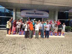 YBM-BRI Cabang Tanah Grogot Bagikan 150 Paket Sembako Dalam Ramadhan Merakyat Seluruh Indonesia