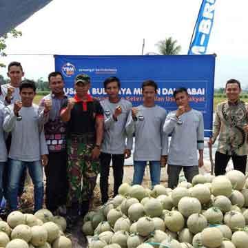 Launching Program PKUR Budidaya Melon Banjarmasin