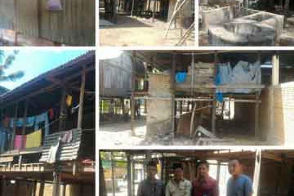 Program Bedah Rumah Pensiunan BRI Makassar