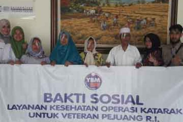 Operasi Katarak Pensiunan BRI Makassar