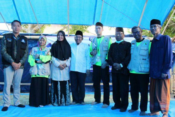 Rumah Quran Darurat di Lombok