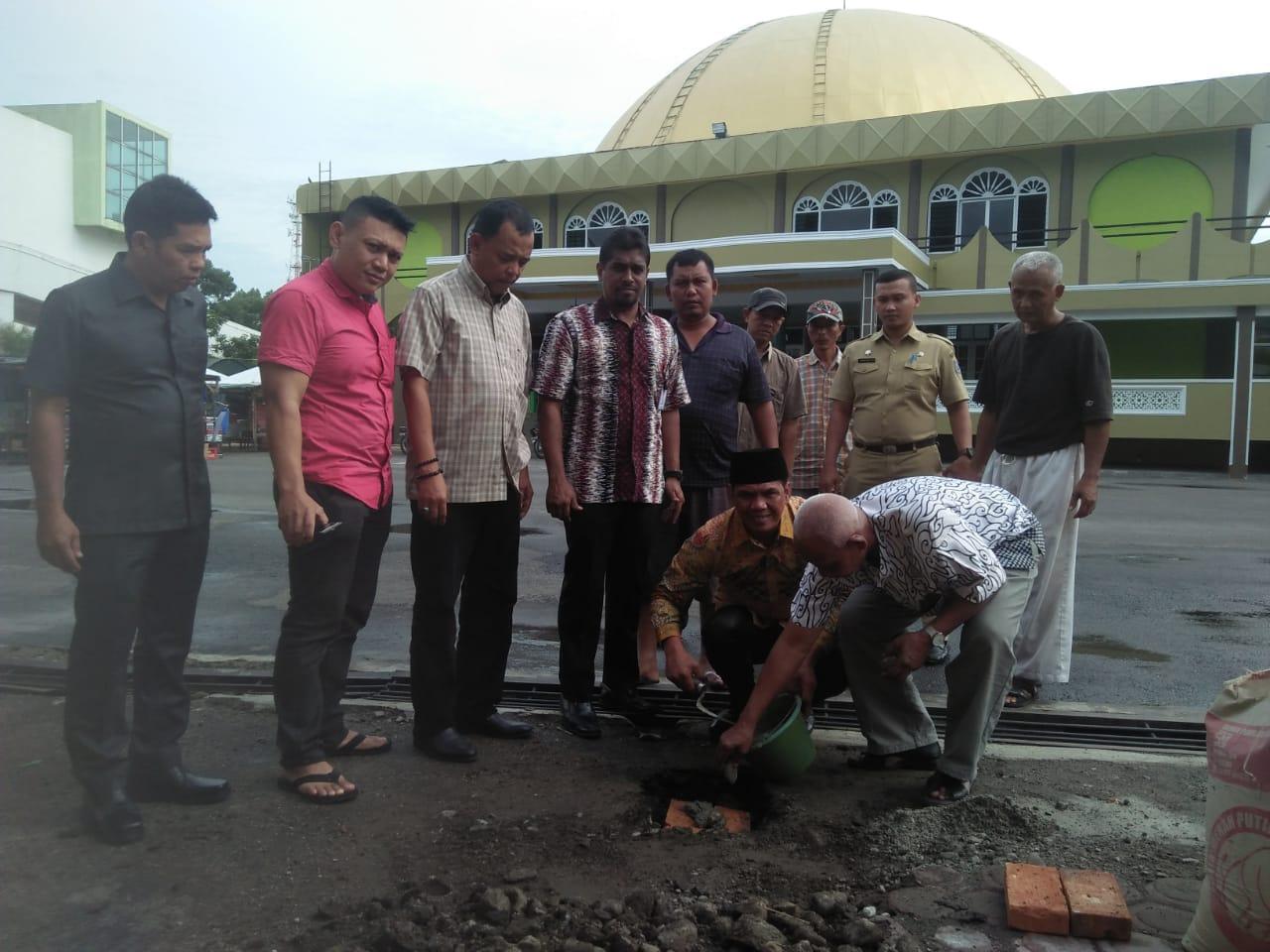 Peletakan Batu Pertama Pasar Mini Berbasis Masjid di Medan