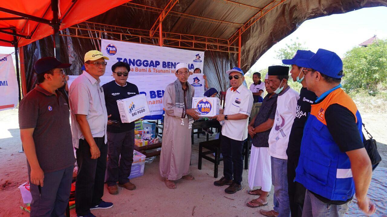 YBM BRI Sumbang 1,7 Miliar untuk Palu, Donggala, dan Sigi
