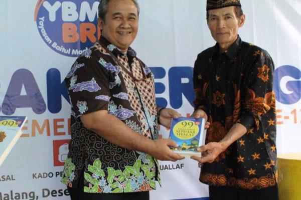 Apresiasi Mualaf YBM BRI Kanwil Malang