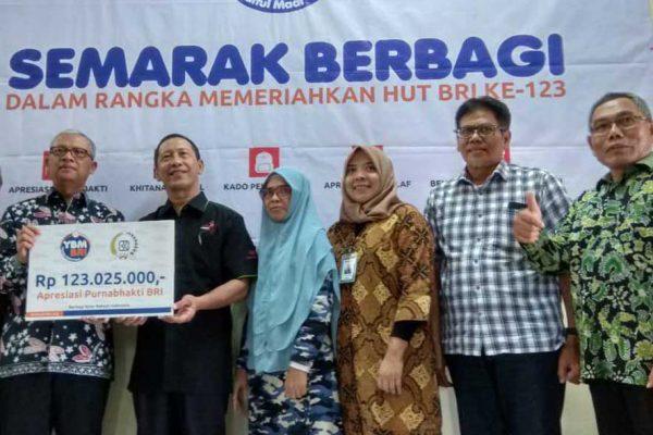Apresiasi Purnabakti YBM BRI Kanwil Surabaya