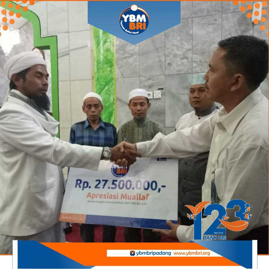 YBM BRI Kanwil Padang Peduli Muallaf Mentawai