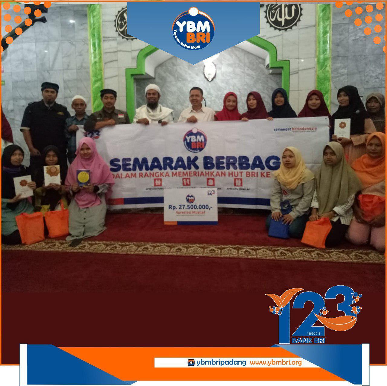 Ybm Bri Kanwil Padang Peduli Muallaf Mentawai Yayasan Baitul Maal