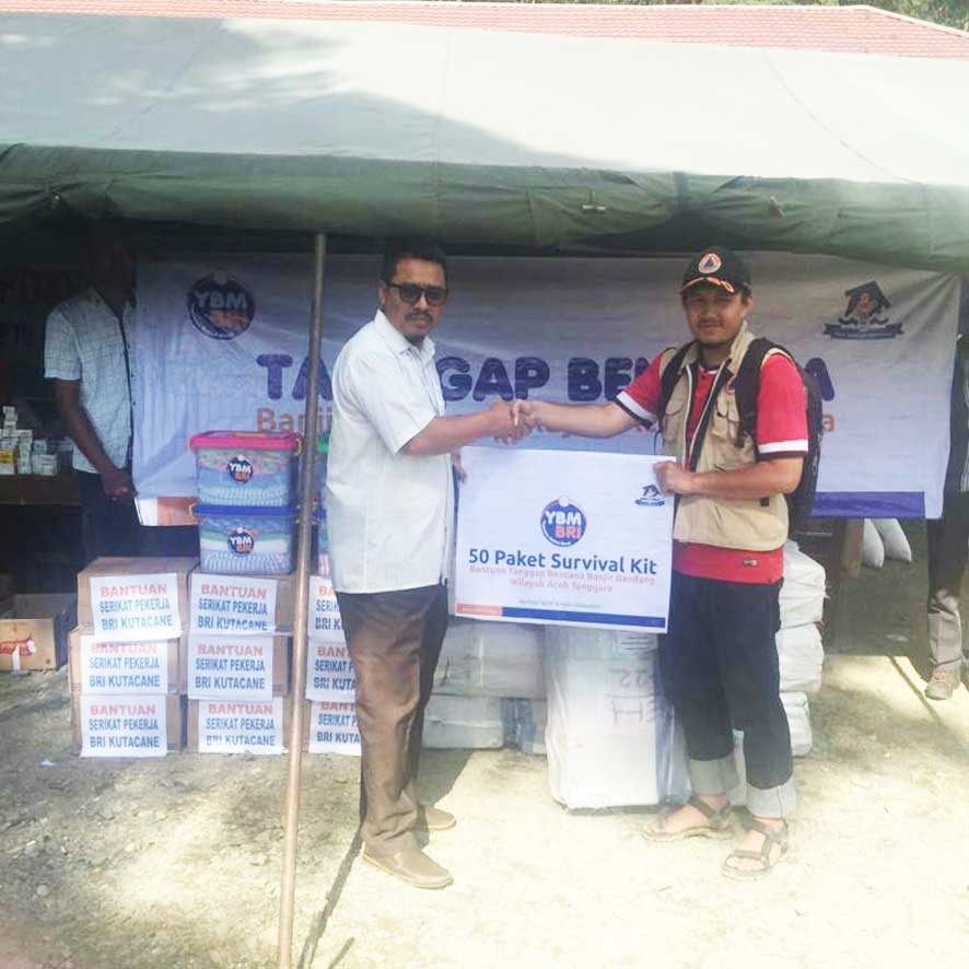 Bantuan Banjir Bandang Aceh Tenggara