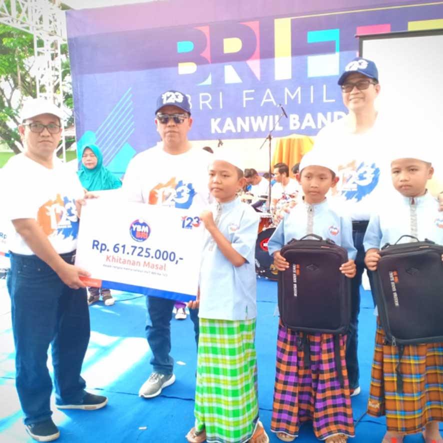 Launching BMUP YBM BRI Kanwil Lampung