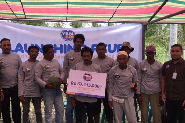 Launching PKUR YBM BRI Kanwil Banda Aceh