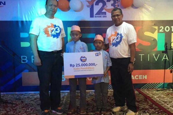 Semarak Berbagi HUT BRI 123 YBM BRI Kanwil Banda Aceh