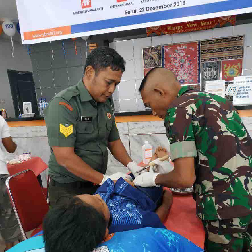 Khitanan Massal YBM BRI Kanwil Jayapura