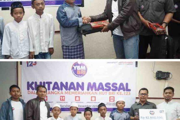 Khitanan Massal YBM BRI Kanwil Surabaya