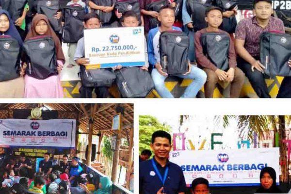Semarak Berbagi Kado Pendidikan YBM BRI Kanwil Jakarta 3