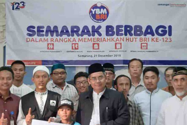 YBM BRI Kanwil Semarang Gelar Apresiasi Mualaf