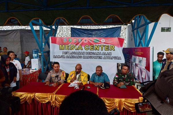 YBM BRI Tanggap Bencana Banjir Bandang dan Tanah Longsor Sentani Kabupaten Jayapura