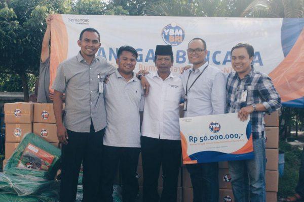 YBM BRI Tanggap Bencana Gempa Lombok Timur