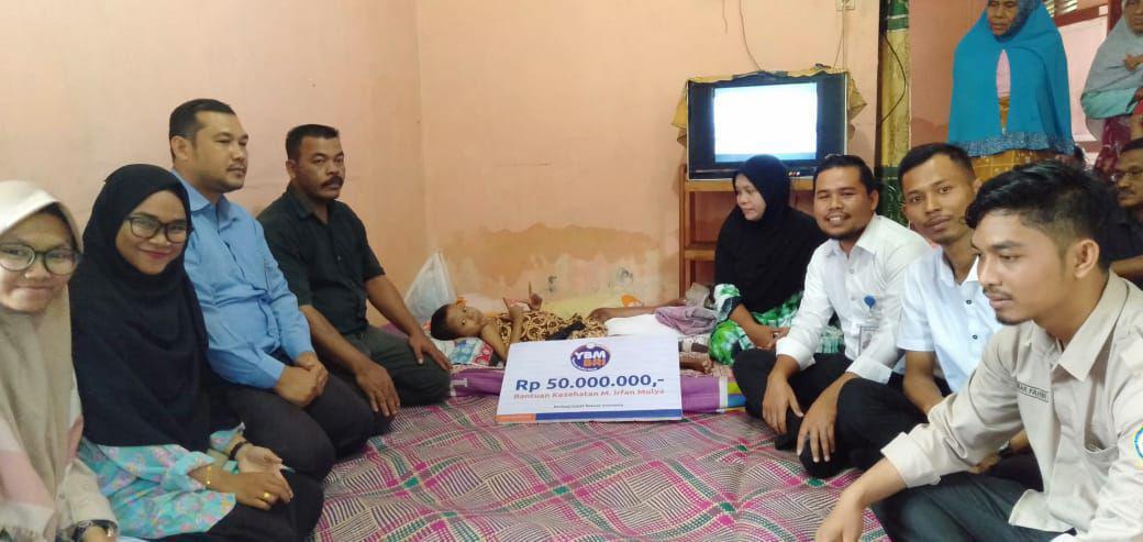 YBM BRI Bantu Irfan di Hari Thalasemia Sedunia