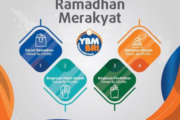 Ramadhan Merakyat YBM BRI