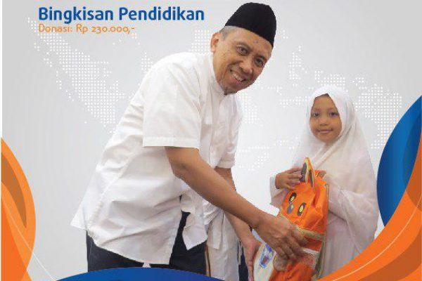 Bahagiakan Anak Yatim dengan Bingkisan Pendidikan Ramadhan Merakyat