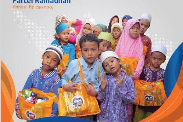 Meriahkan Ramadhan Merakyat dengan Berbagi Parcel Ramadhan