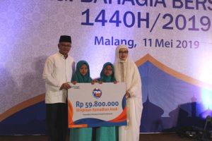 YBM BRI Kanwil Malang Berbagi Kebahagiaan Di Bulan Ramadhan