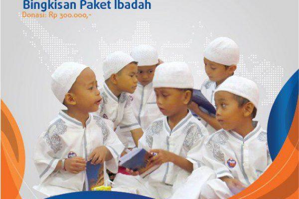 Berbagi Bingkisan Paket Ibadah Ramadhan Merakyat