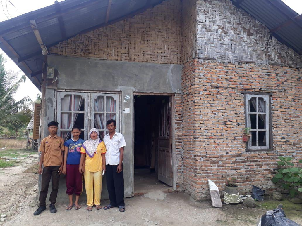 IP2BK Medan Bangkitkan Keluarga Bu Marlina