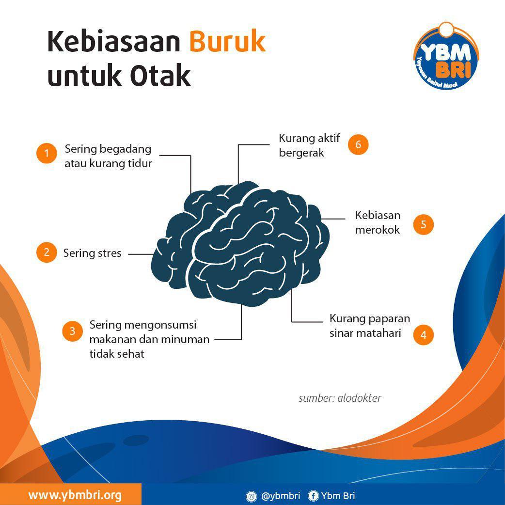 Kebiasaan Buruk untuk Otak