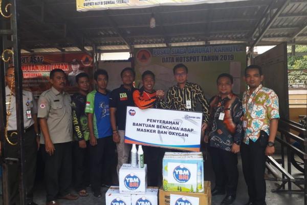 Bantuan Masker Kalimantan