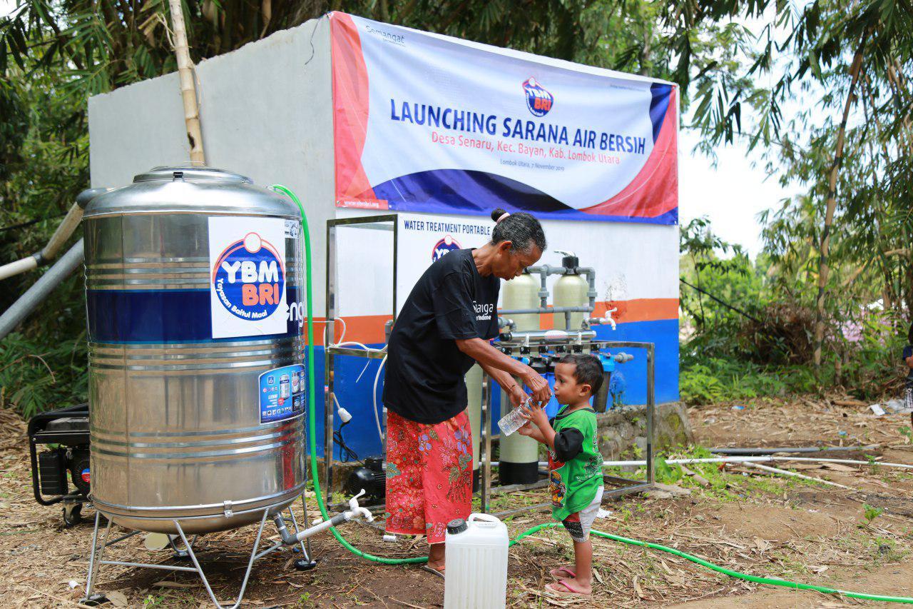 Air untuk Lombok