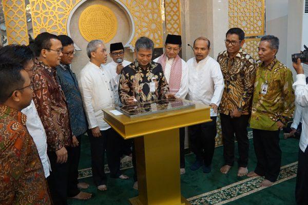 Peresmian Masjid BRI