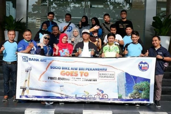 Socio Bike AIW BRI Pekanbaru
