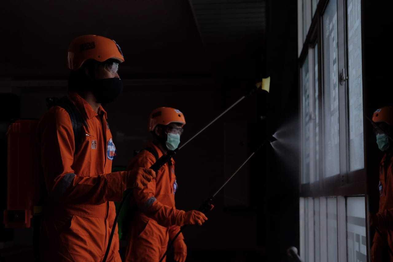 Disinfektan Masjid Makassar