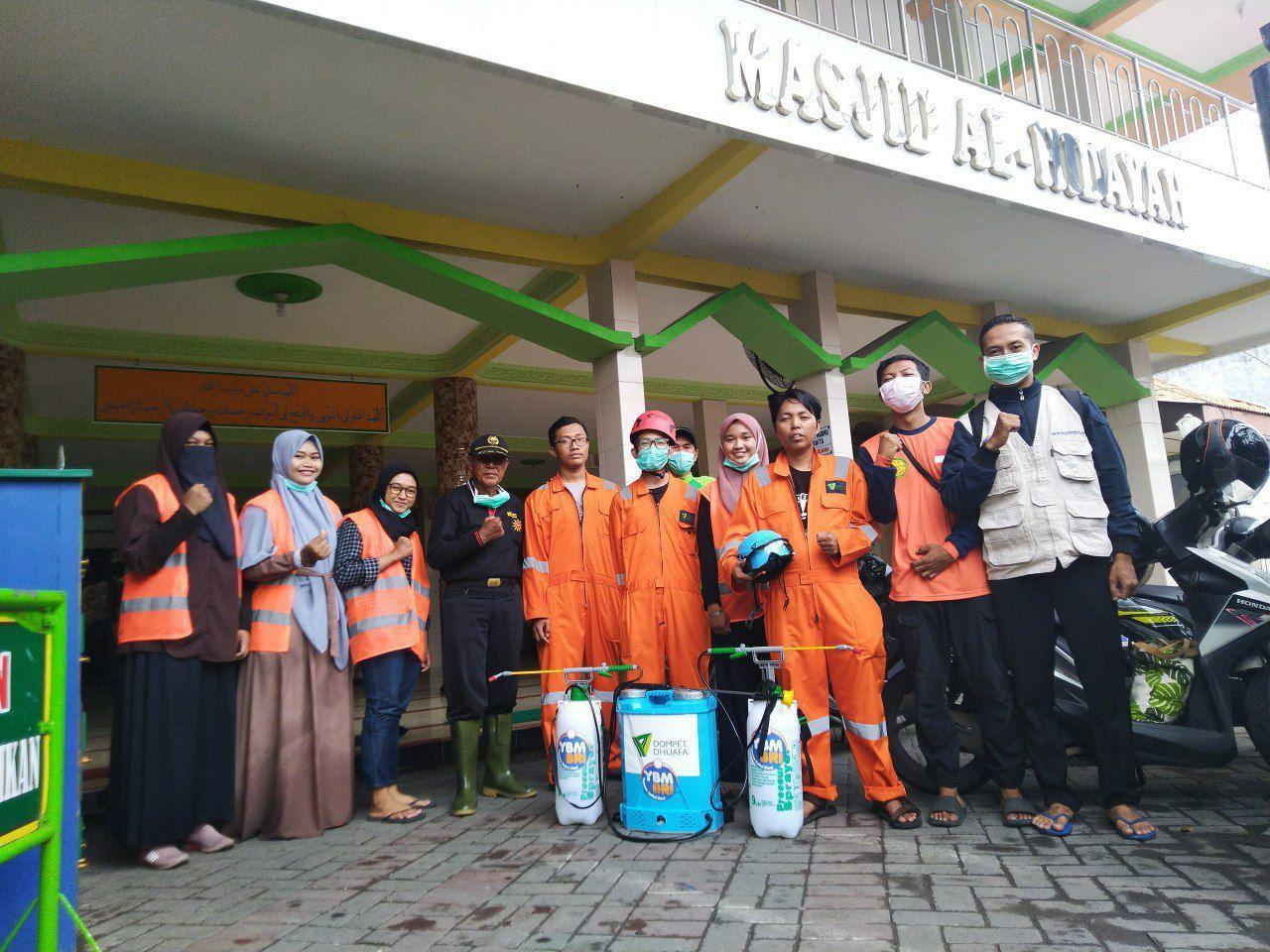 Disinfeksi Masjid Surabaya