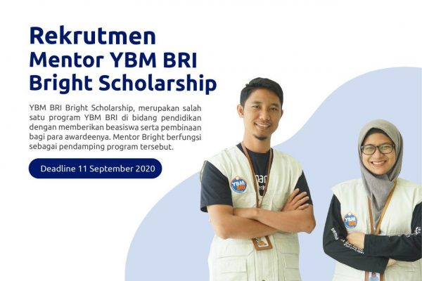 Rekrutmen Mentor Program Bright Scholarship Tahun 2020 #Batch2